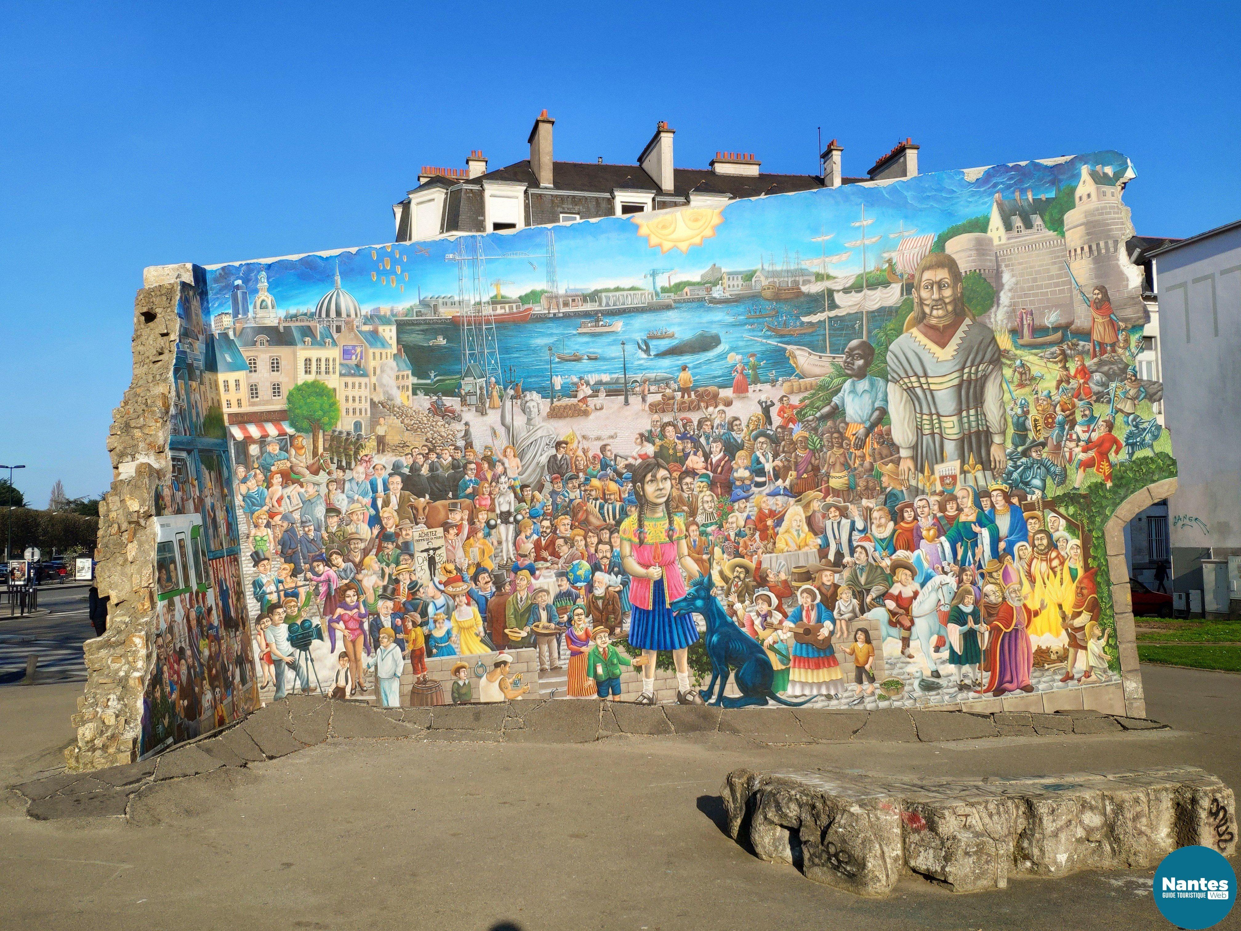 Le Mur Tombé Du Ciel Nantes Web Guide Touristique
