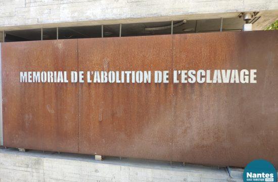 le mémorial de l'abolition de l'esclavage